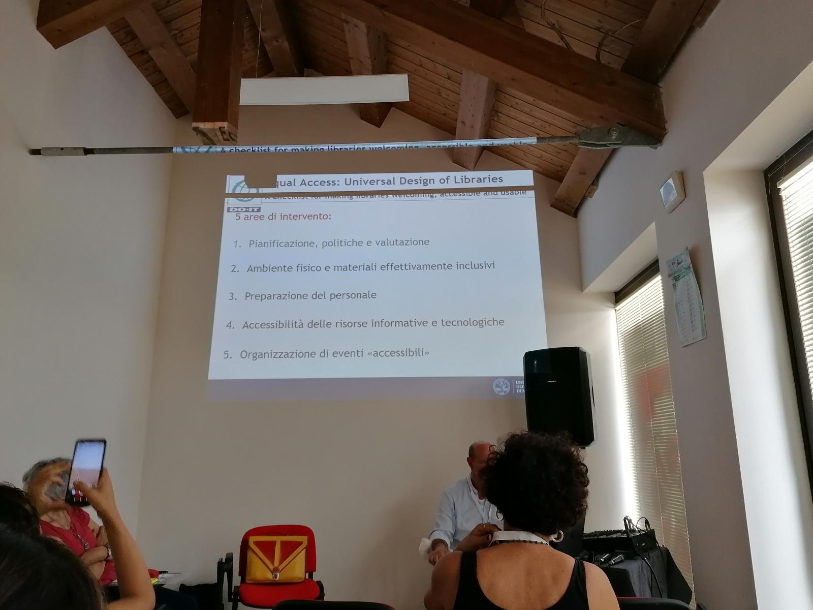 Fabio Venuta: universal design for libraries