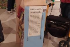 mostra vietato non sfogliare - libri ad alta leggibilità