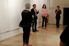 inaugurazione della mostra vietato non toccare
