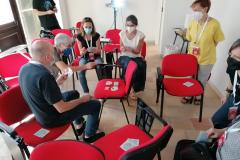 una sessione di gioco in CAA: le torri di Bologna